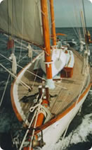 Under sail